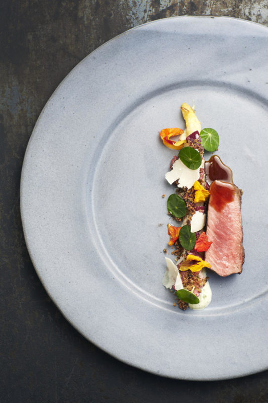 South Africa - Cape Town - Belmond Mount Nelson - Chef''s Table - Beef dish