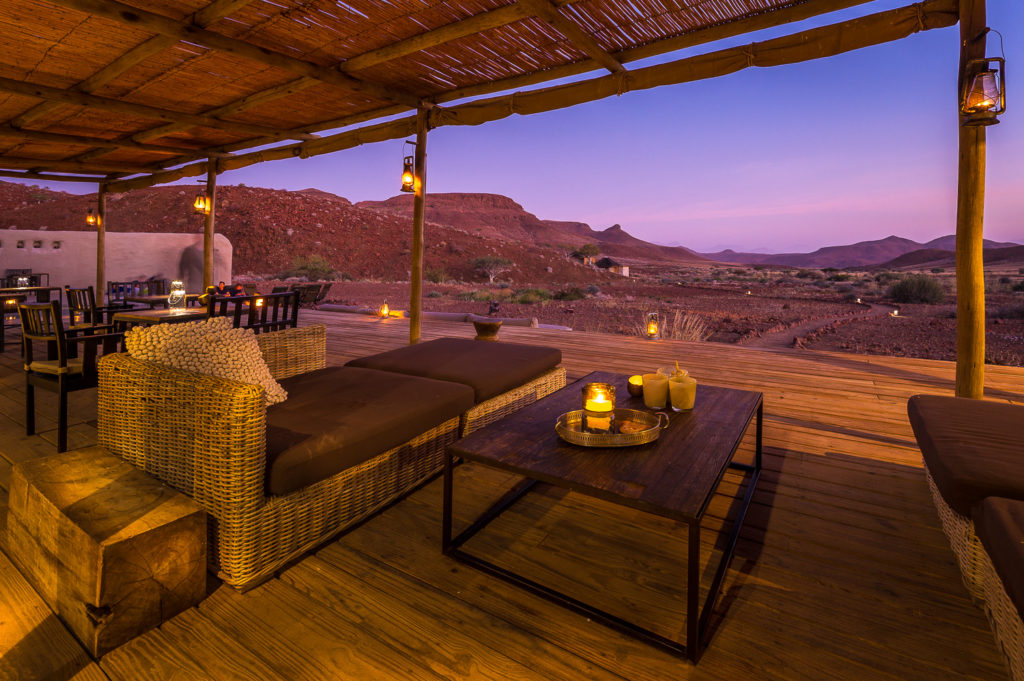 Namibia - Twyfelfontein - 1552 - Damaraland Camp at night