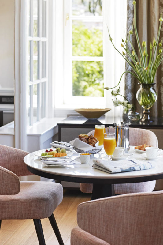 South Africa - Cape Town - Belmond Mount Nelson - Deluxe junior suite breakfast