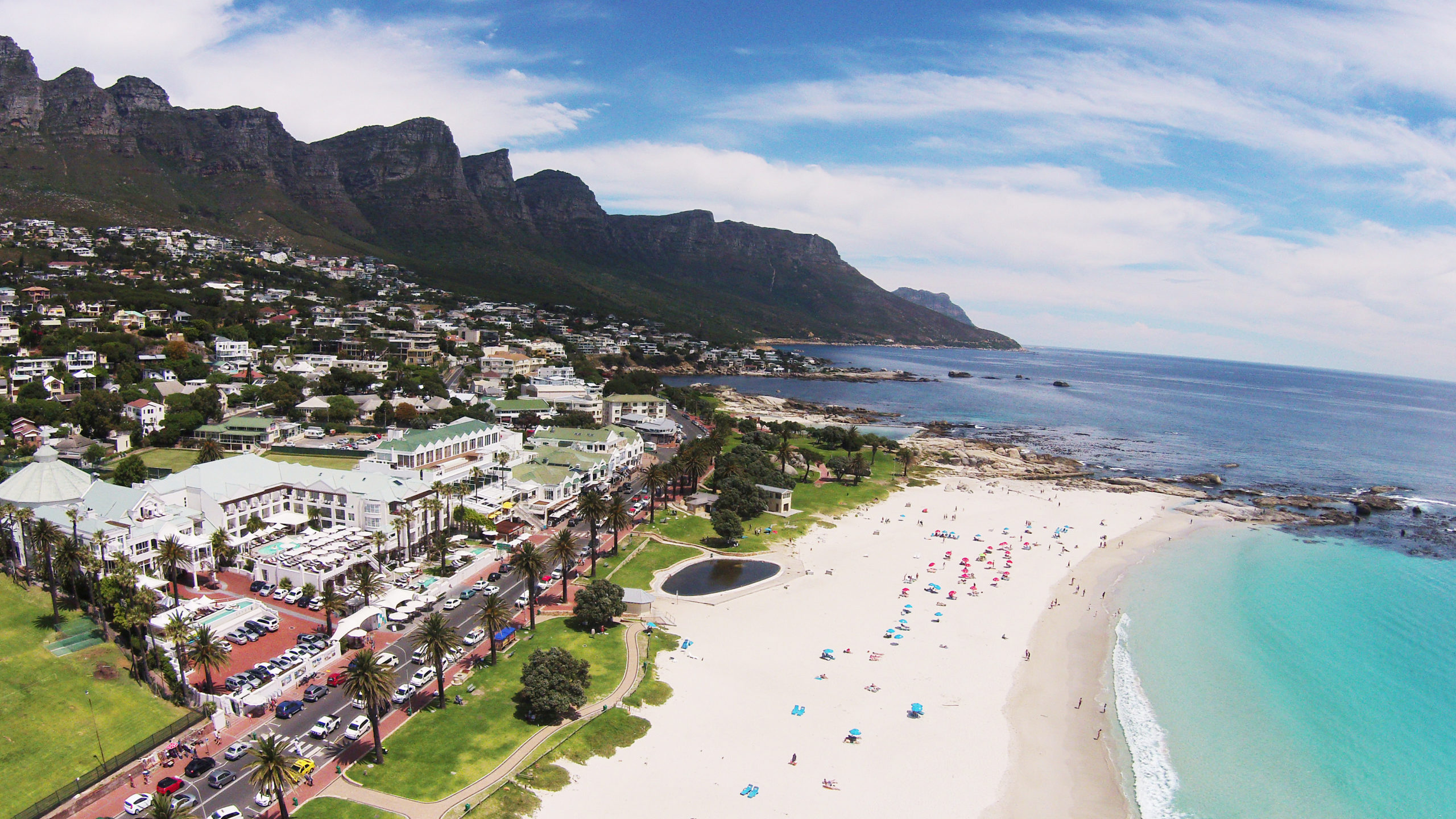 The Bay Camps Bay-Aerial