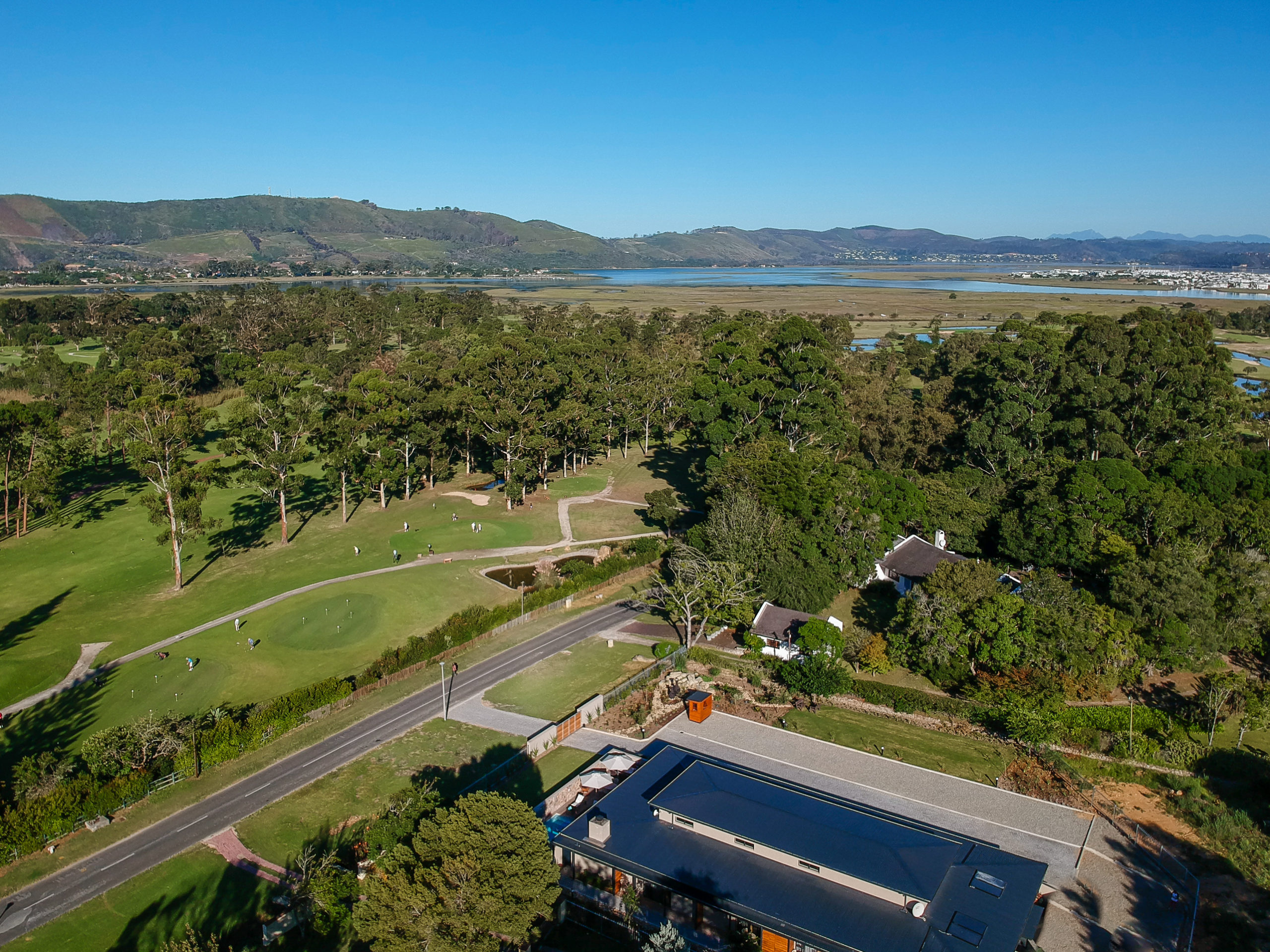 The Greens Guest House-Aerial