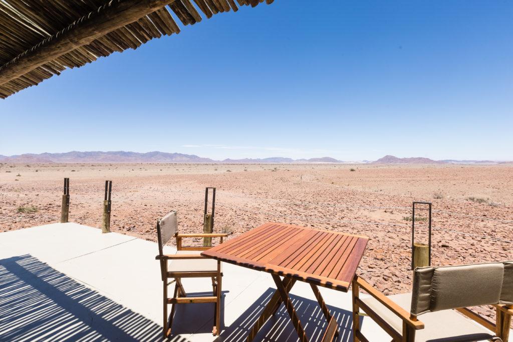 Namibia - 1552 - Elegant Desert Eco Camp - Deck