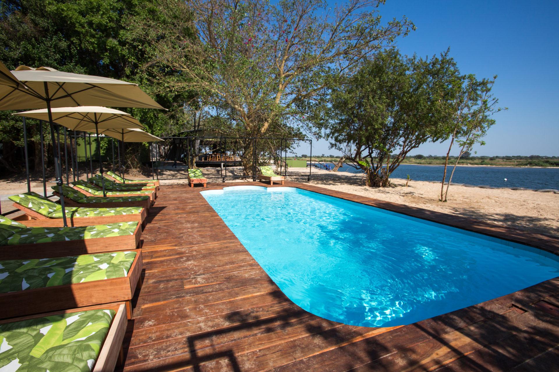 Namibia - 1552 - Zambezi Mubala Lodge - Pool
