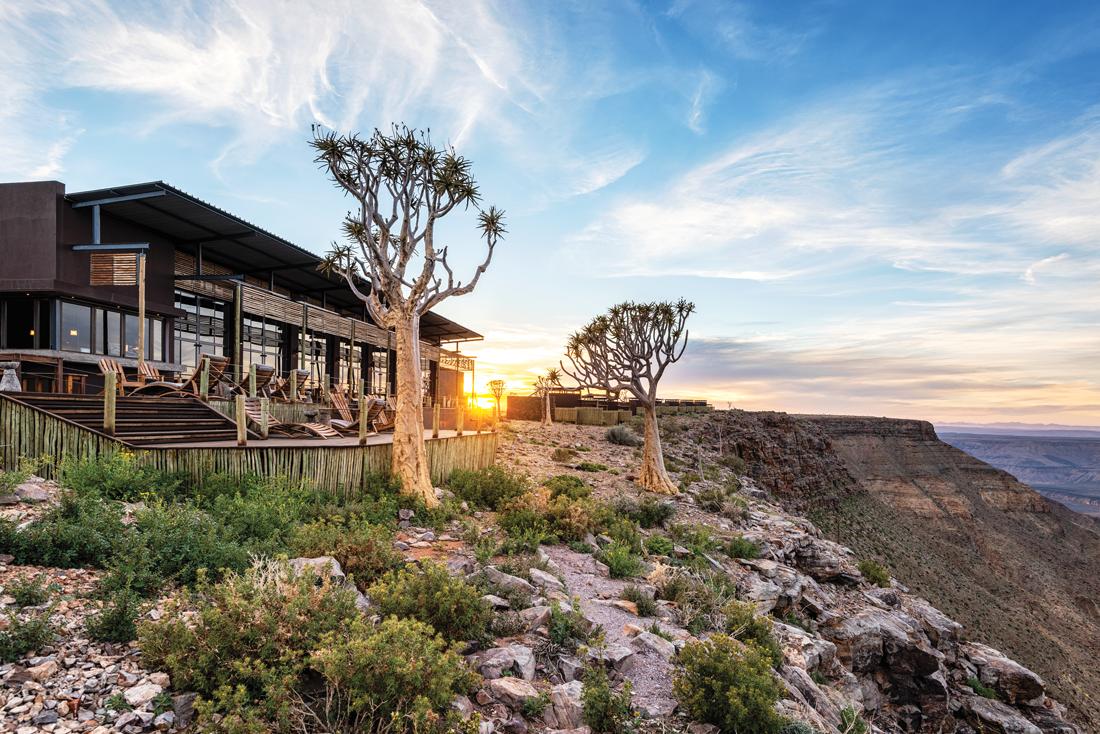 Namibia - 1552 - Fish River Lodge - Exterior
