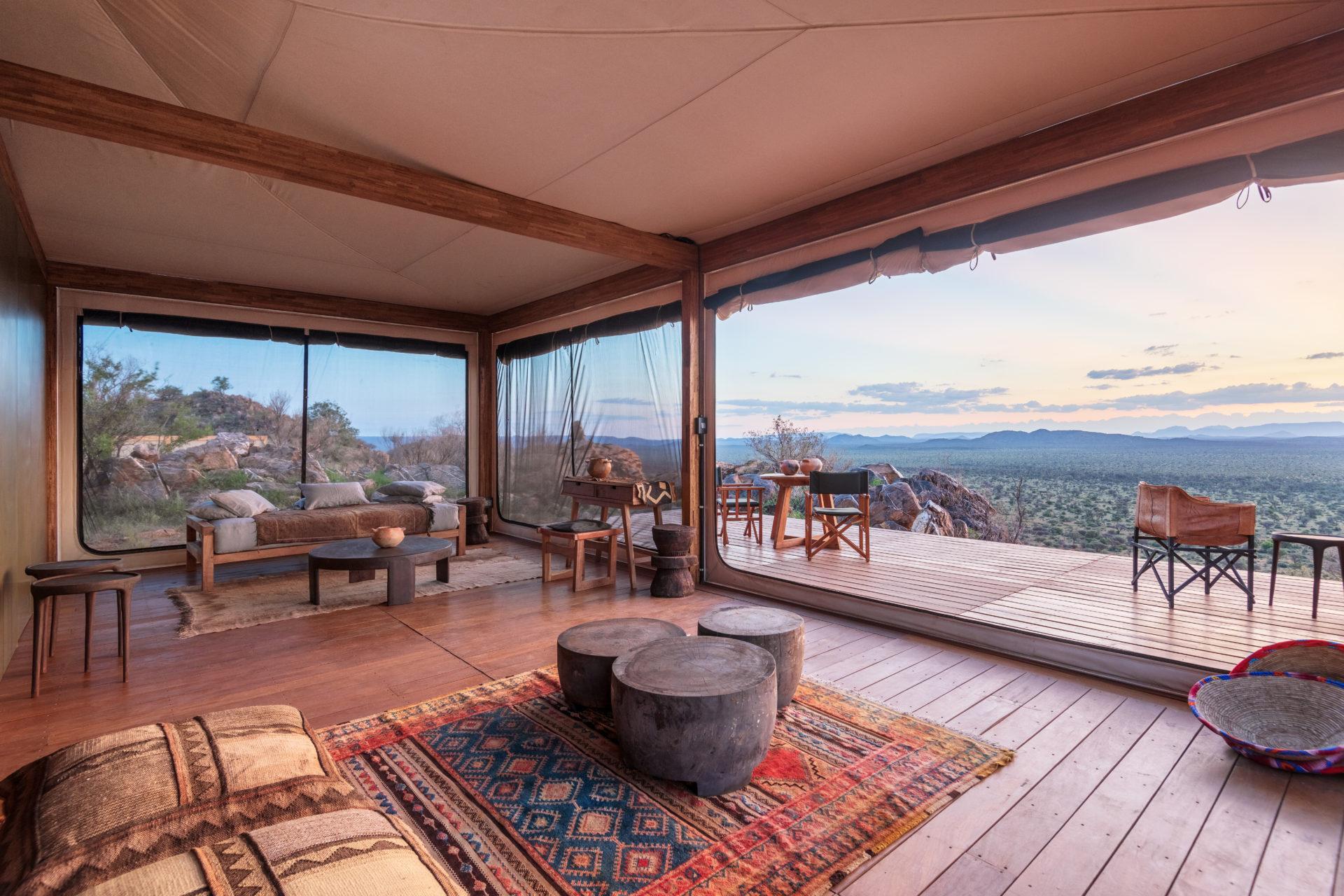 Namibia - 1552 - Habitas Lodge - Deck