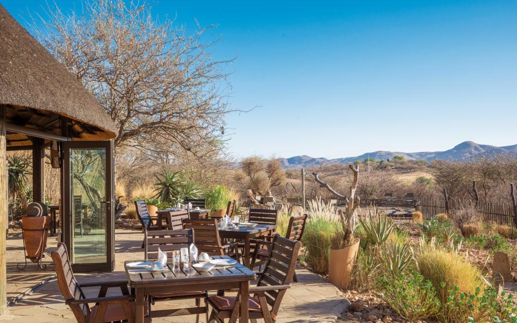 Namibia - 1552 - Immanuel Wilderness Lodge - Terrace