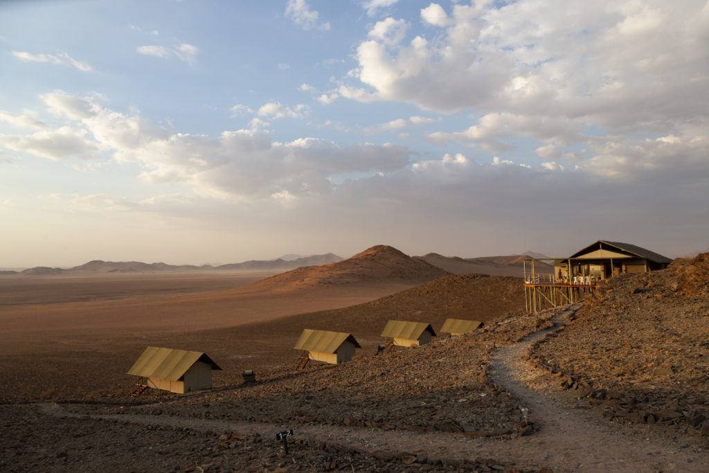 Namibia - Tiras Mountains - 1552 - Camp Exterior