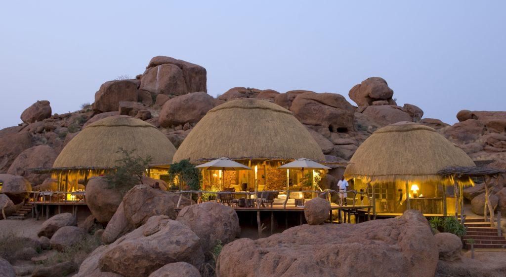 Namibia - Twyfelfontein - 1552 - Camp Exterior