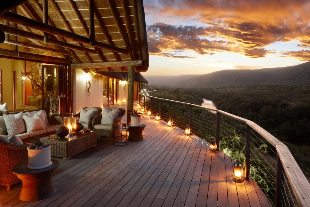 South Africa - Eastern Private Game Reserves - 4948 - Main Deck at Dusk