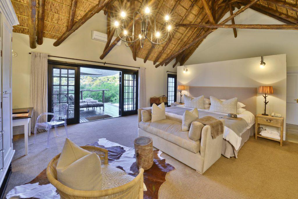 South Africa - Eastern Private Game Reserves - Shamwari Lobengula Lodge - Suite room and views
