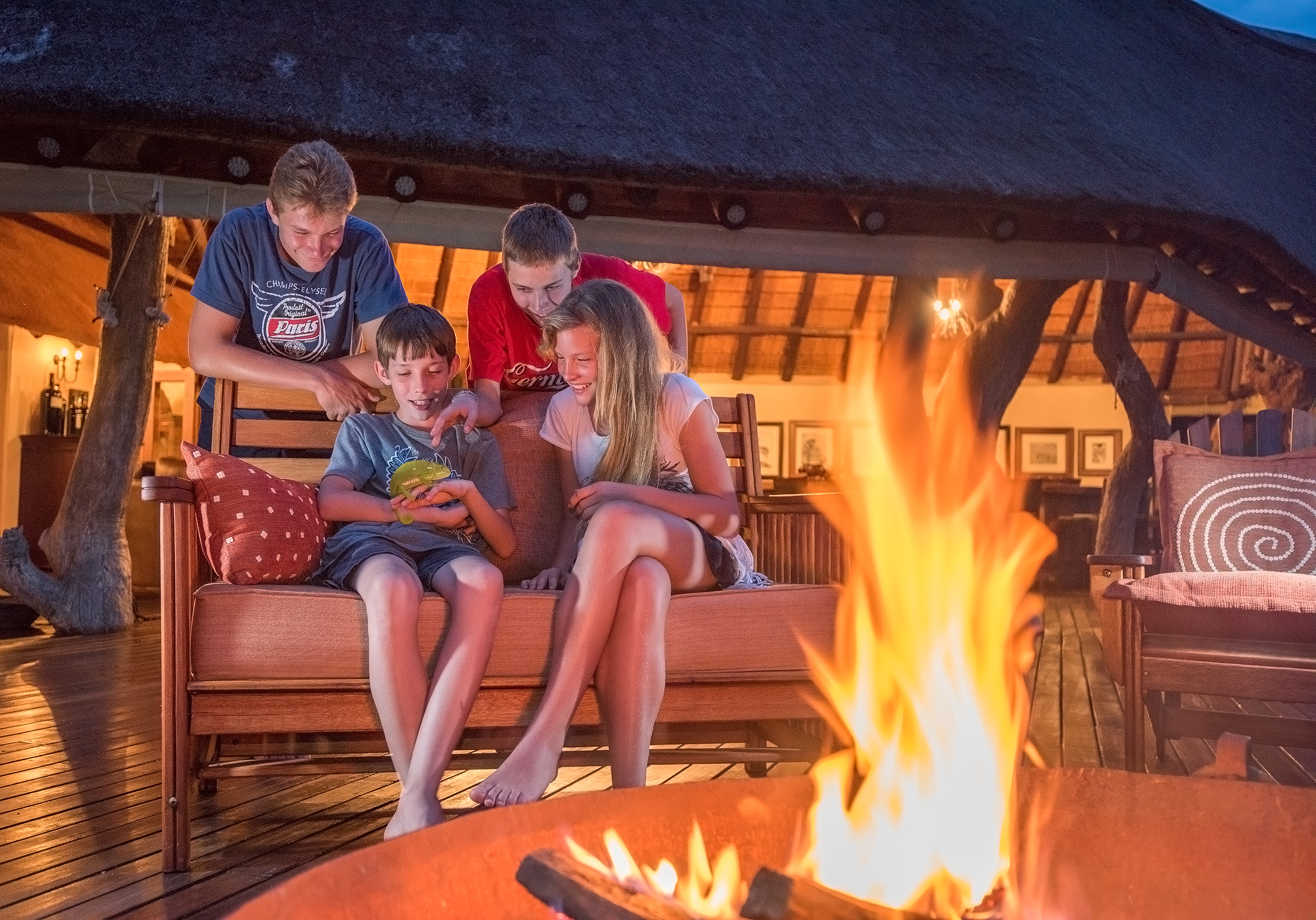 Kaingo Game Reserve Family Fire Pit