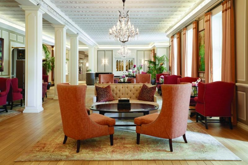 South Africa - Cape Town - Belmond Mount Nelson - The Lounge - Seating