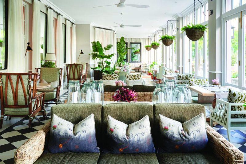 South Africa - Cape Town - Belmond Mount Nelson - The Lounge Veranda