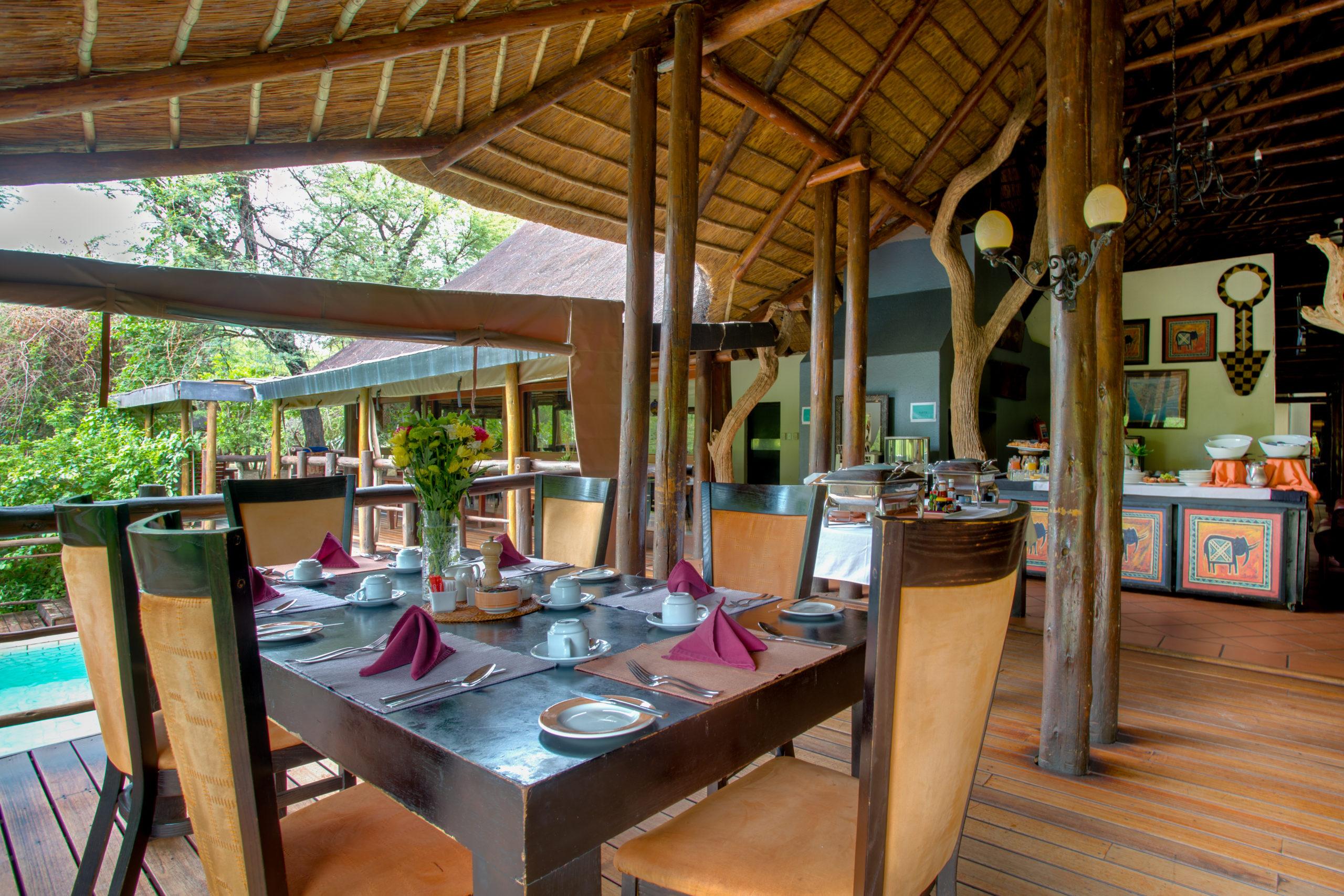 Madikwe River Lodge-Dining Room