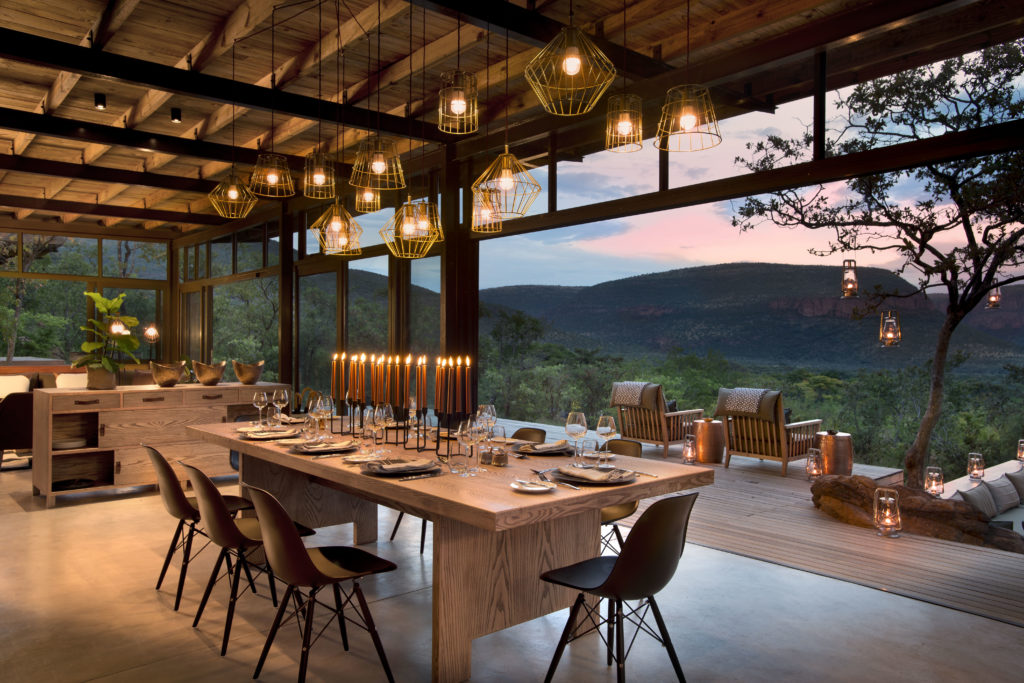 Marataba Mountain Lodge-Dining Area