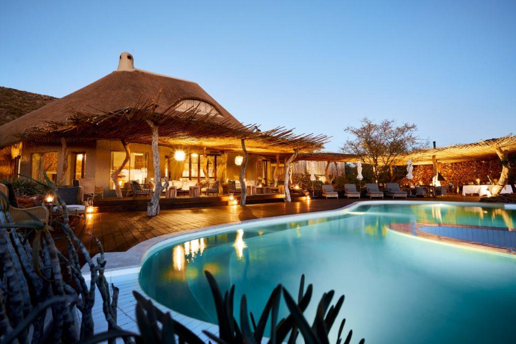 South Africa - Tswalu Kalahari Reserve - Twalu The Motse - Pool