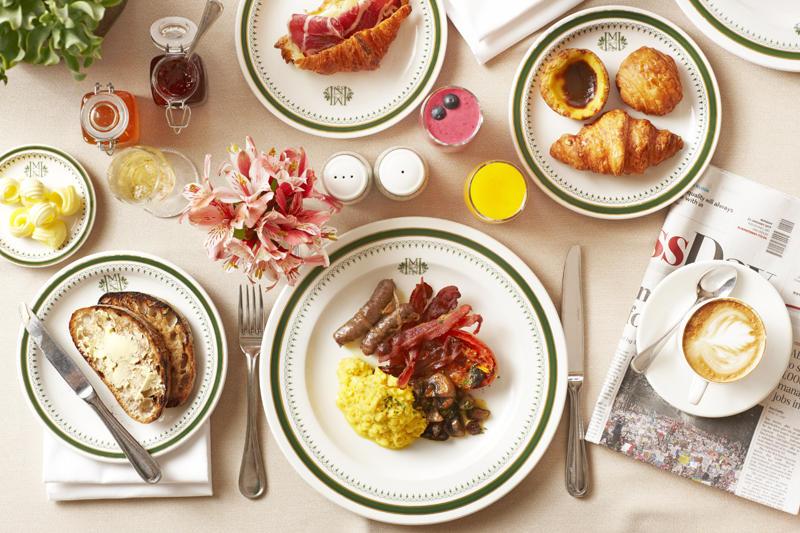 South Africa - Cape Town - Belmond Mount Nelson - Oasis Restaurant - Menu