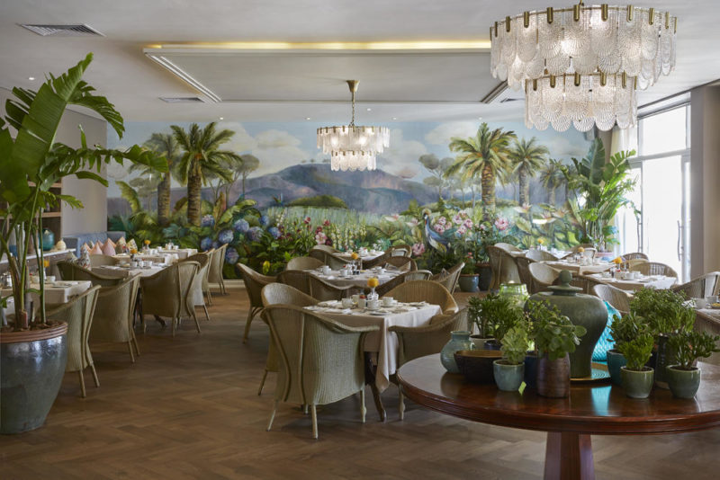 South Africa - Cape Town - Belmond Mount Nelson - Oasis Restaurant - Seating