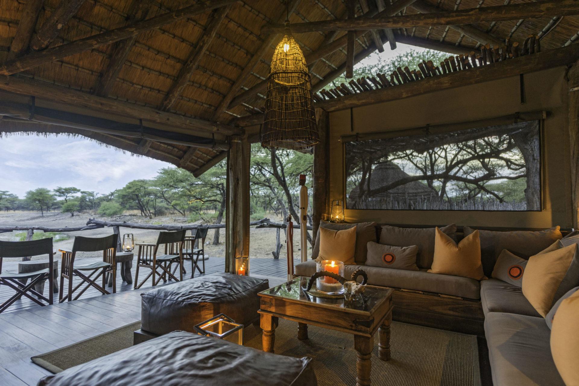 Namibia - 1552 - Onguma Tree Top - Lounge