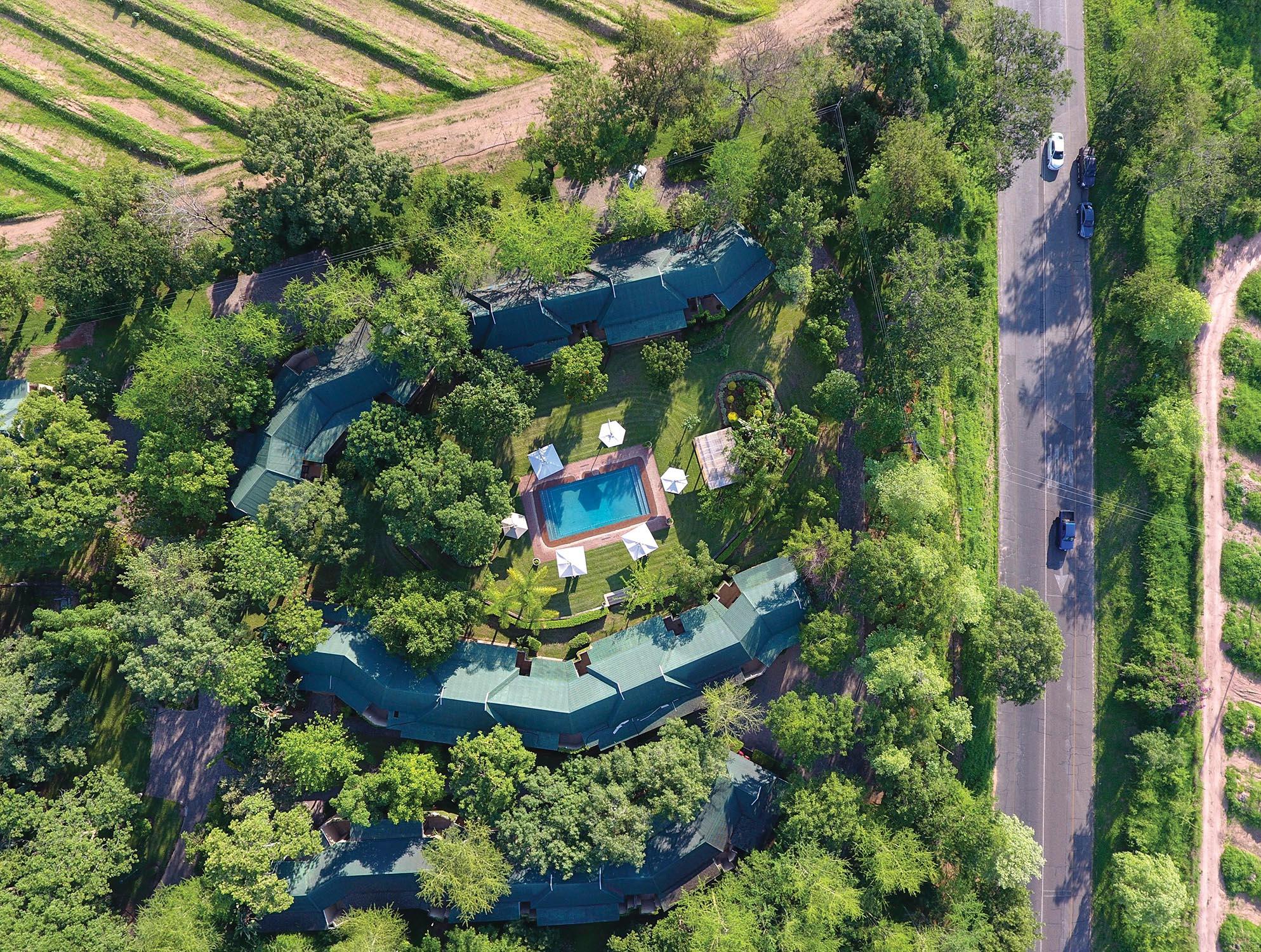 Perry's Bridge-Aerial