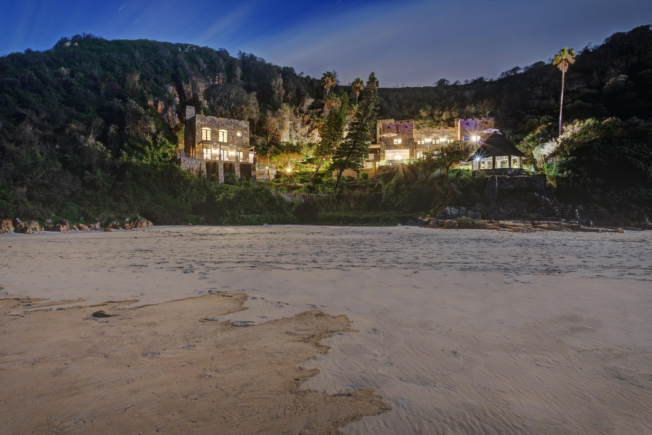Pezula Castle-Beach