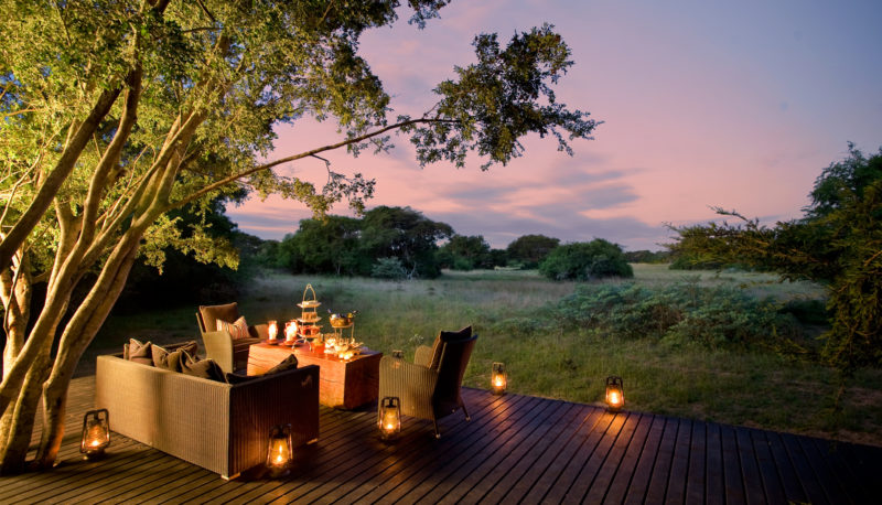 South Africa - andBeyond Phinda Private Game Reserve - Forest Lodge Decking - View point