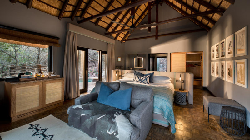 South Africa - andBeyond Phinda Private Game Reserve - Mountain Lodge - Mountain Cottage bedroom