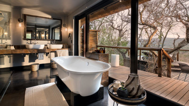South Africa - andBeyond Phinda Private Game Reserve - Mountain Lodge - Mountain suite bathroom