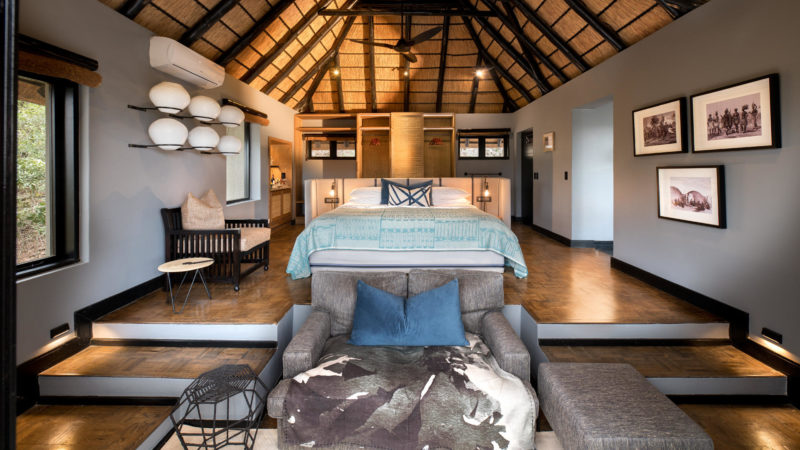 South Africa - andBeyond Phinda Private Game Reserve - Mountain Lodge - Mountain suite bedroom