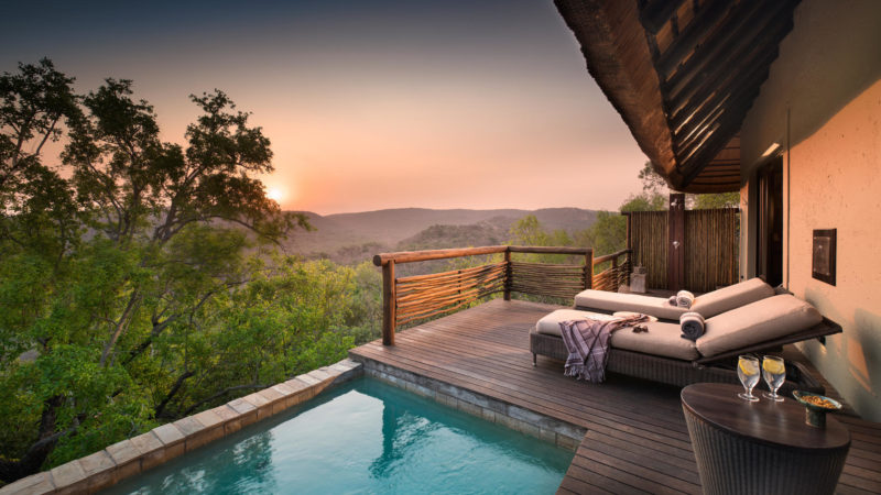 South Africa - andBeyond Phinda Private Game Reserve - Mountain Lodge - Mountain suite pool