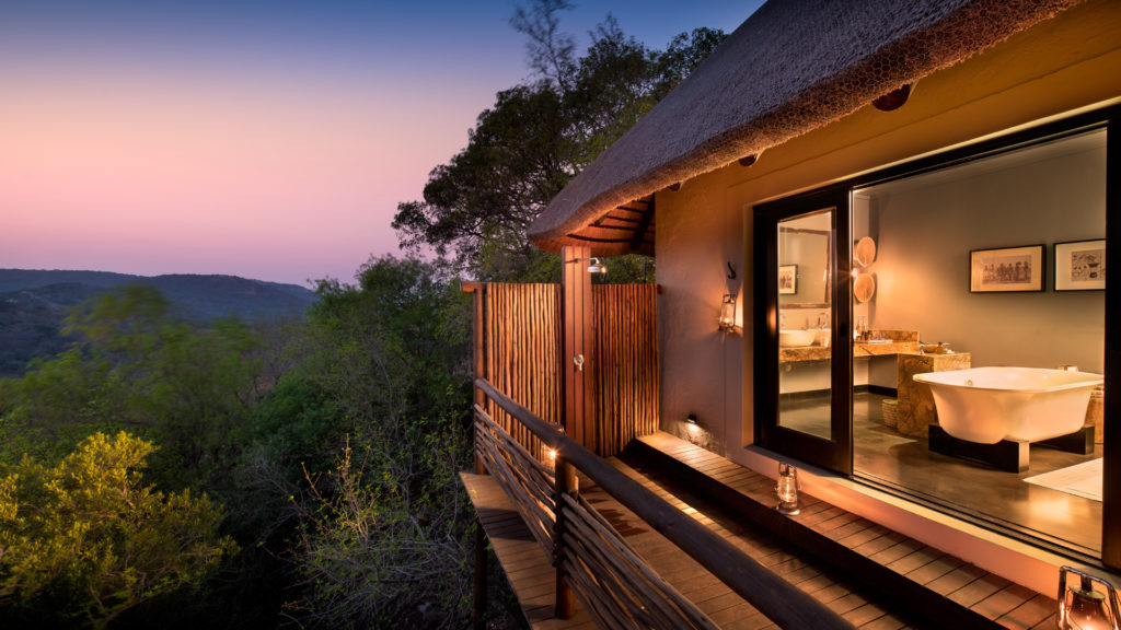 South Africa - andBeyond Phinda Private Game Reserve - Mountain Lodge - Suite - Balcony View