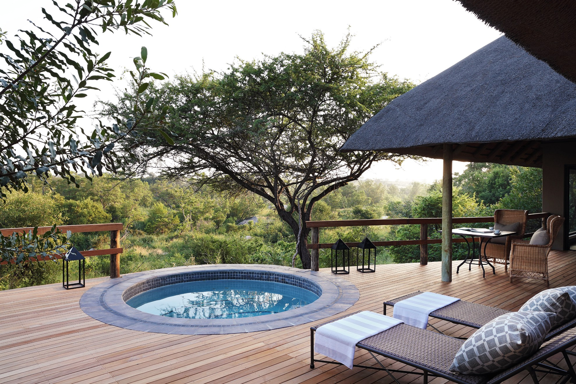 South Africa - Kruger - 4948 - Plunge Pool and Decking