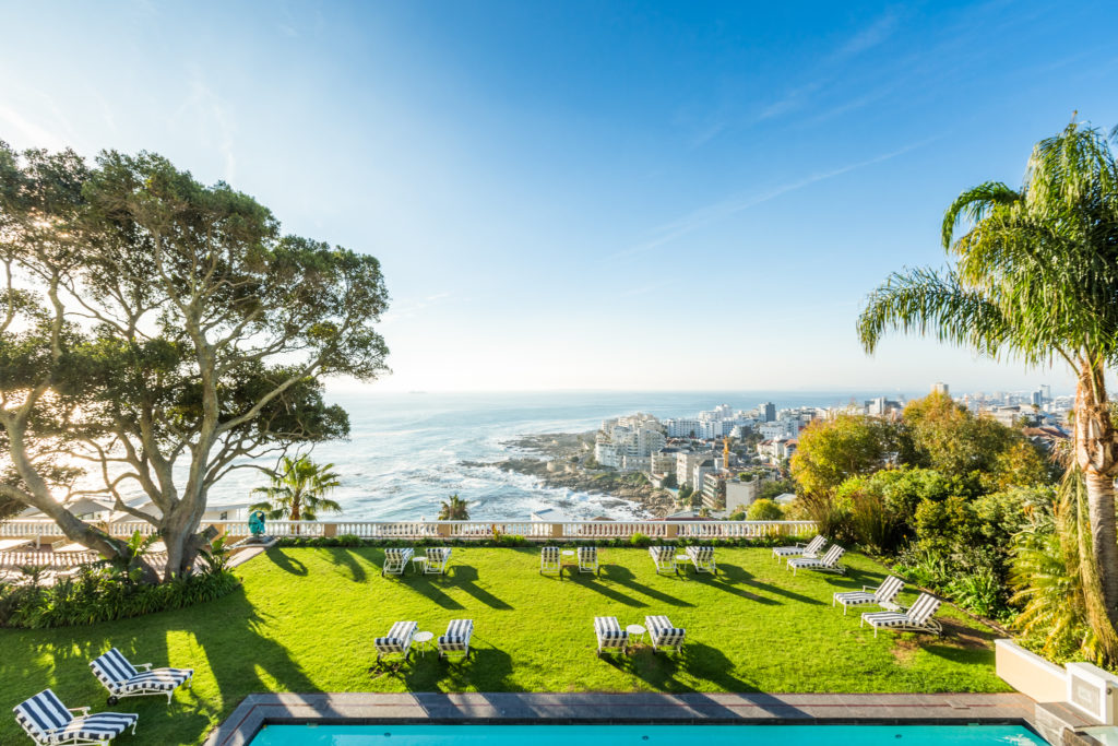 South Africa - Cape Town - Ellerman House - Garden views