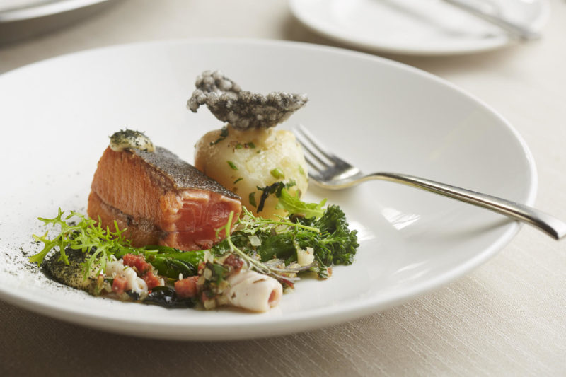 South Africa - Cape Town - Belmond Mount Nelson - Lord Nelson Restaurant - Salmon Dish