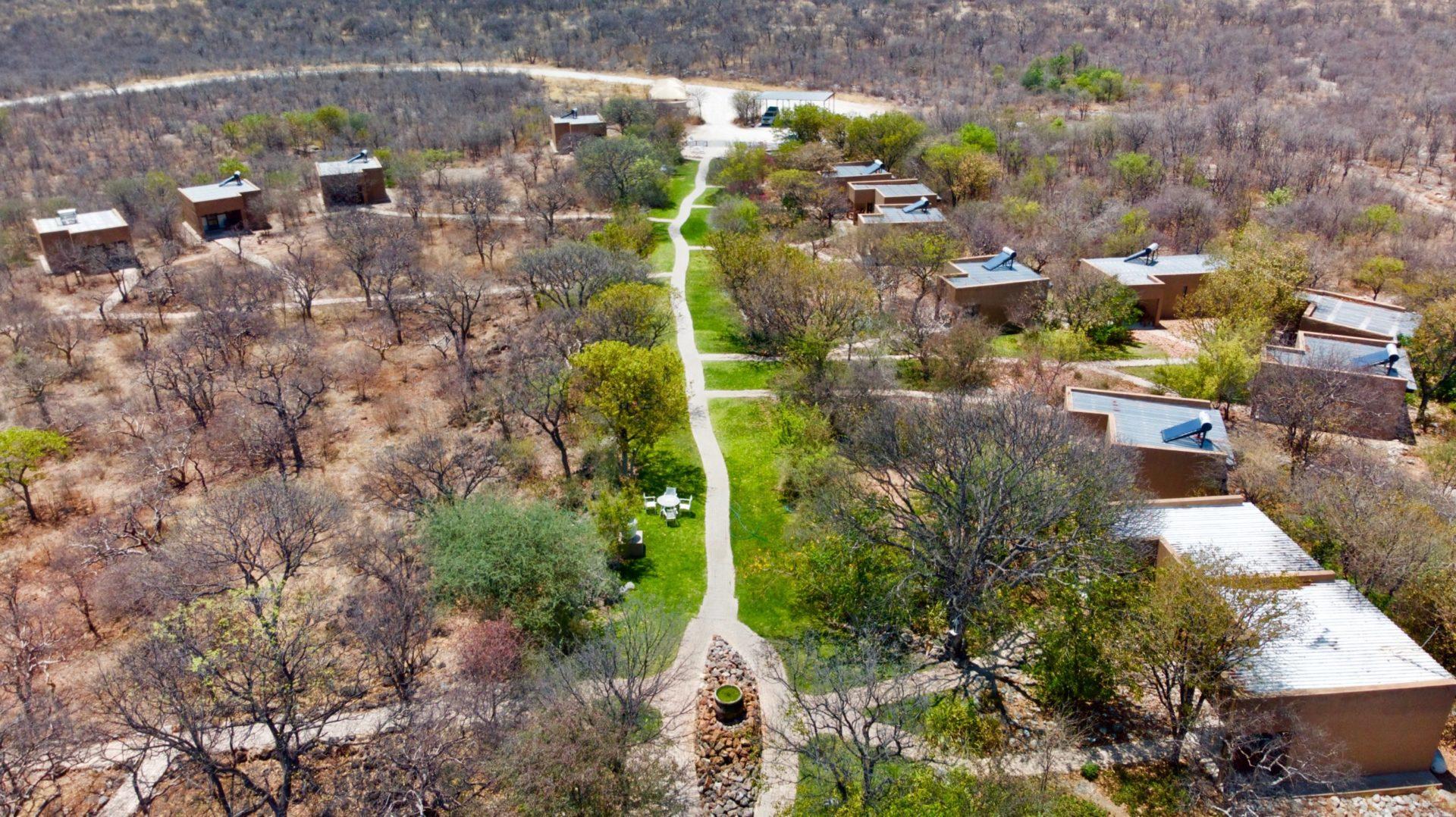 Namibia - 1552 - Toshari Lodge - Aerial