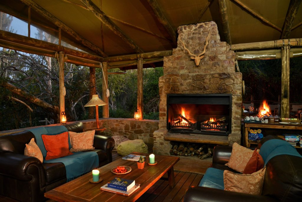 South Africa - Eastern Private Game Reserves - Sibuya River Camp - Lounge Area