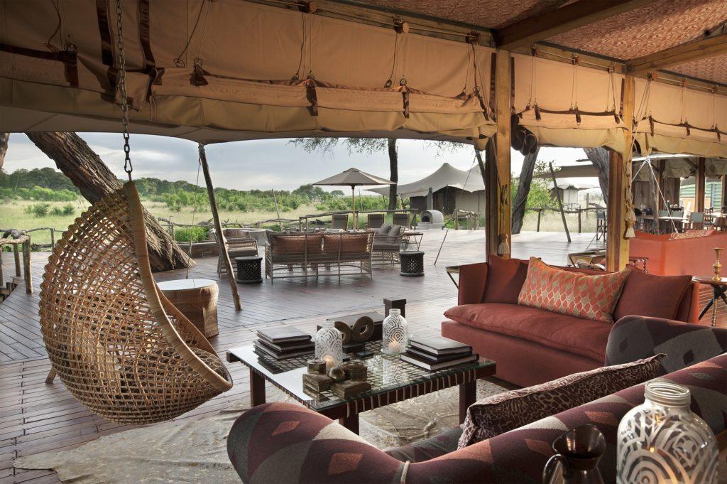 Zimbabwe - Hwange - 1564 - Tent with Seating