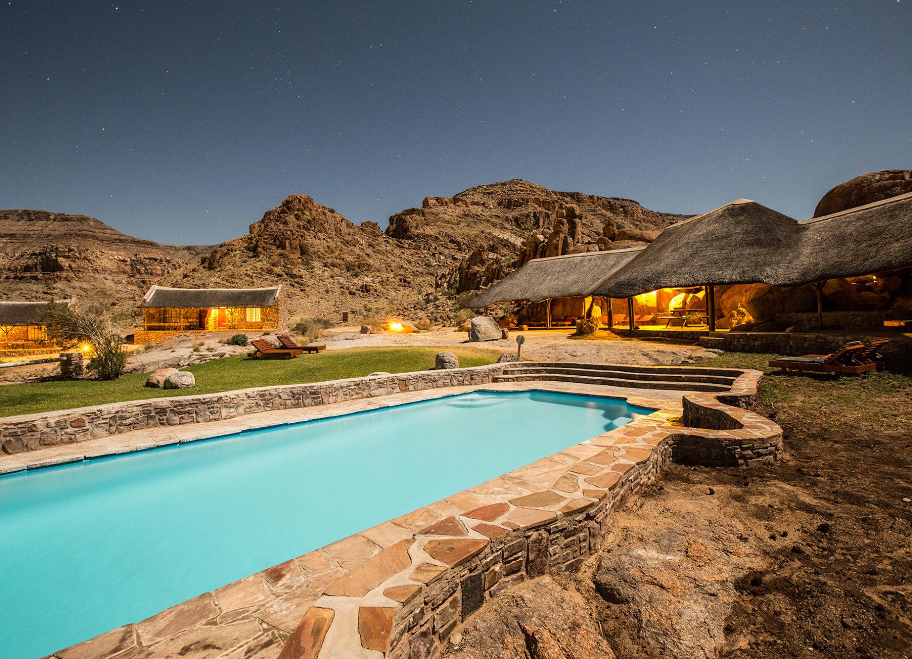 Namibia - 1552 - Canyon Village - Pool