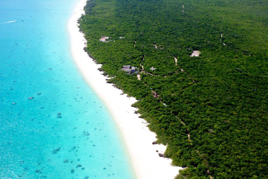 Mozambique - Quirimbas Archipelago - 11895 - Aerial of Beach