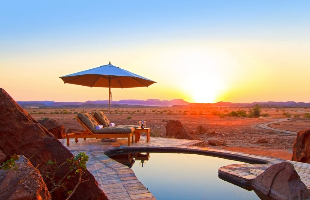 Namibia - 1552 - Twyfelfontein Country Lodge - Pool