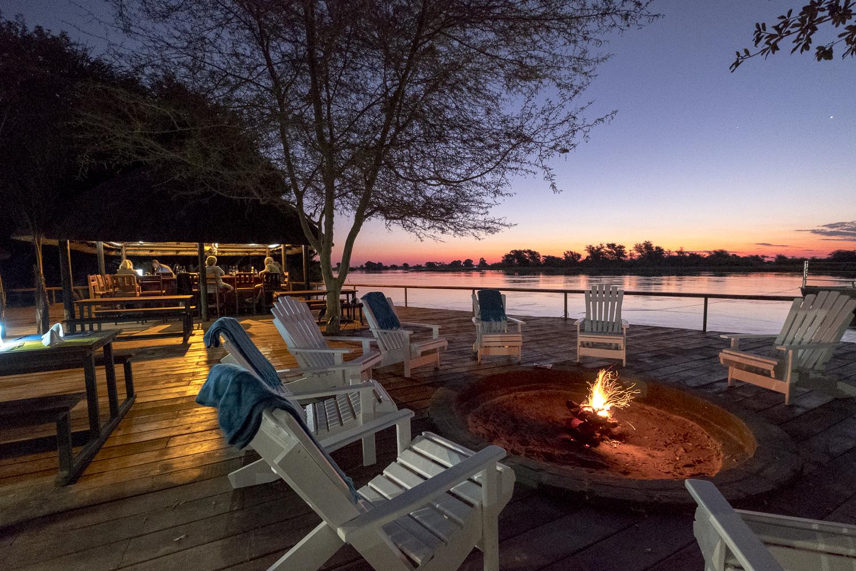 Namibia - 1552 - Zambezi Mubala Camp - Deck