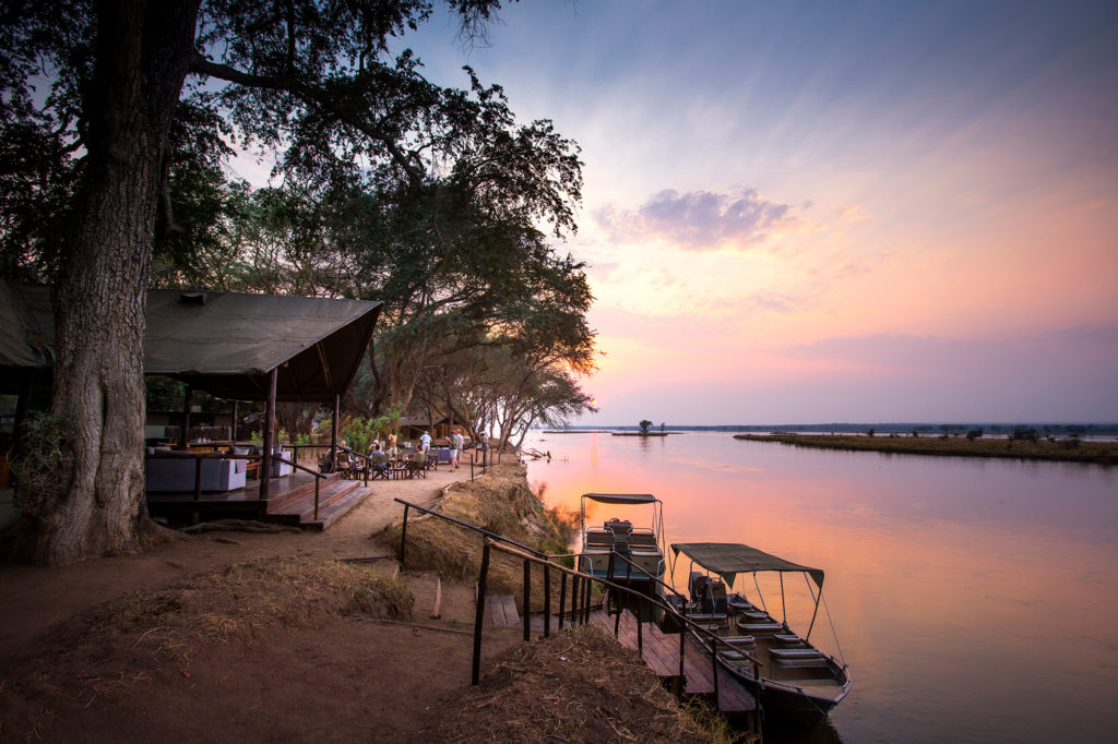 Old Mondoro Camp Lower Zambezi Zambia River Views