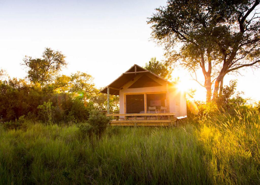 Botswana - Khwai Private Reserve - 1553 - The Jackal & Hide sunrise