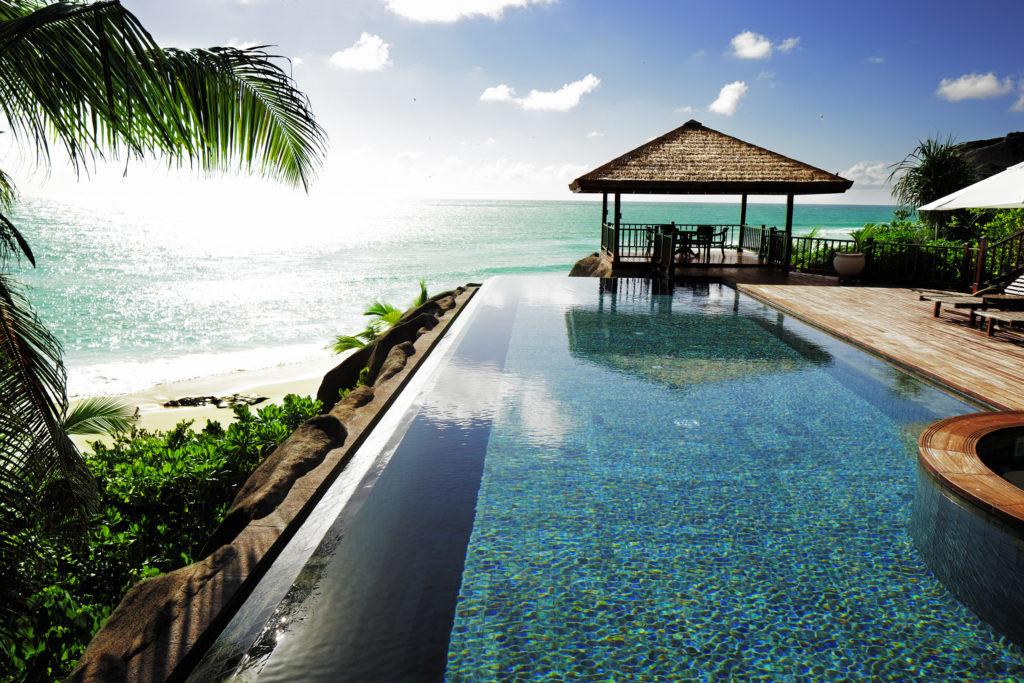 Seychelles - Fregate Island -1554 - Fregate Island Private - Twin Residence Infinity Pool