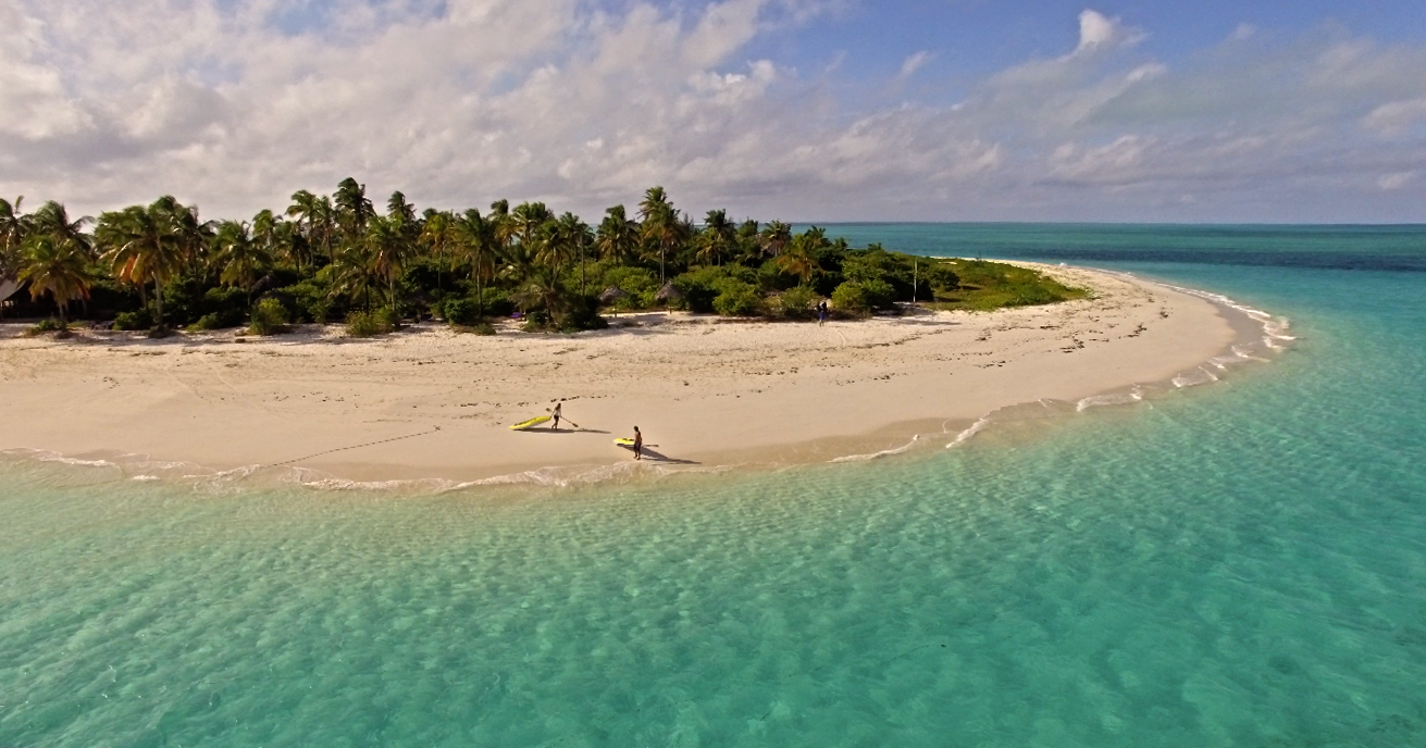 Fanjove Private Island Arial Island View