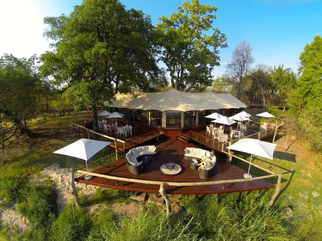Zimbabwe - Victoria Falls - 1564 - Decking in front of Lodge