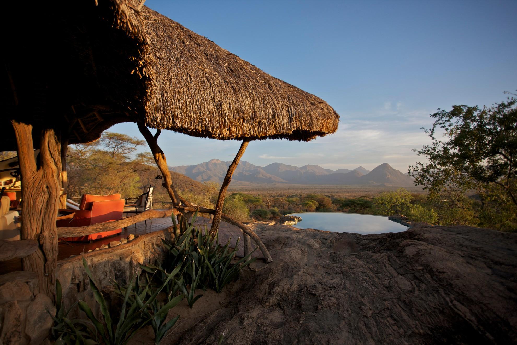 Sarara Camp Matthews Range Kenya Mountain Views