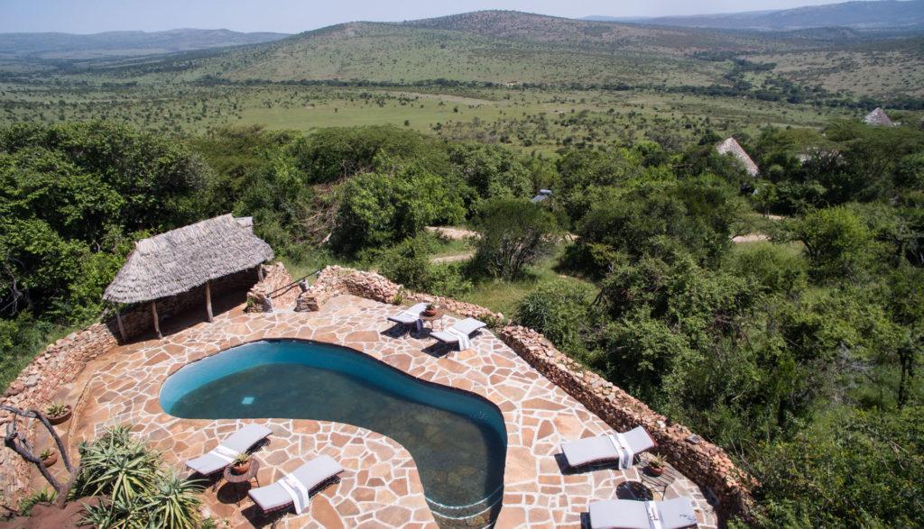 Tanzania - Northern Serengeti - 1568 - andBeyond Klein's Camp Pool and Views