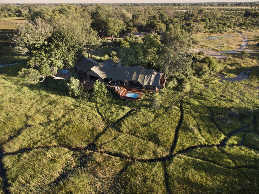 Botswana - Duba Plains Private Reserve - 1553 - Duba Plains Suite Aerial View