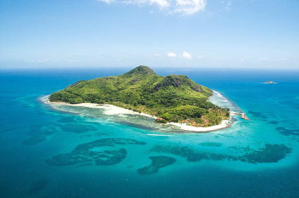 Saint Anne Resort & Spa - Ariel Hotel View - Seychelles